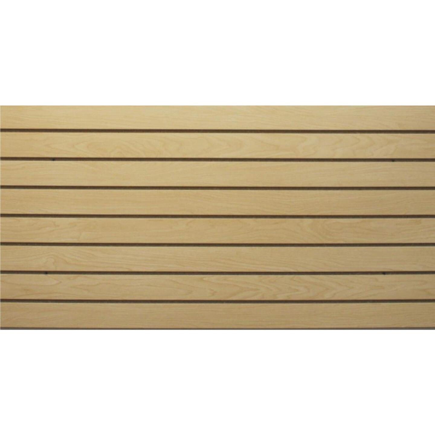 GarageEscape 24 in. x 48 in. Anchor Core Slatwall, Maple Image 1