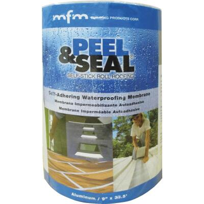 MFM Peel & Seal 9 In. X 33.5 Ft. Aluminum Roofing Membrane