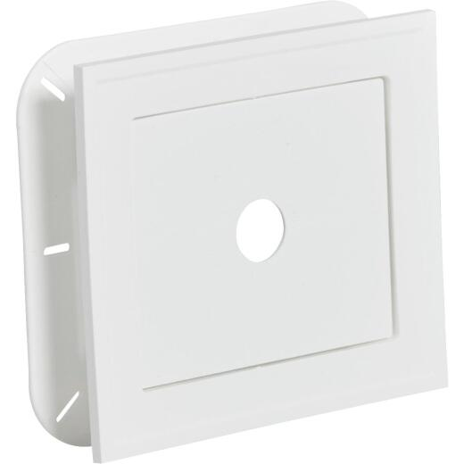 "Ply Gem 8-3/16"" x 8-3/16"" White Vinyl Mounting Blocks"