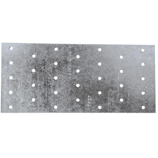 Simpson Strong-Tie 3-1/8 in. W. x 7 in. L. Galvanized Steel 20 Gauge Tie Plate