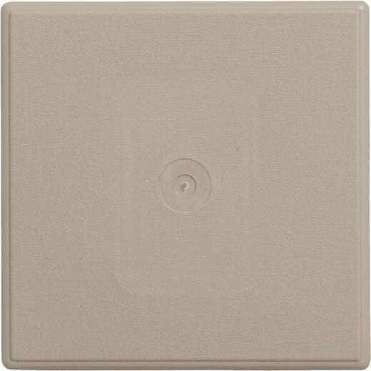 "Ply Gem 6-3/4"" x 6-3/4"" Clay Vinyl Mounting Blocks"