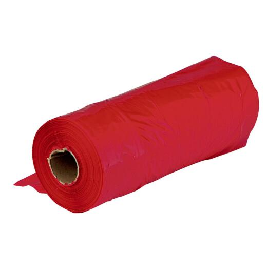 Film Gard 18 In. x 18 In. Red Polyethylene Caution Flag