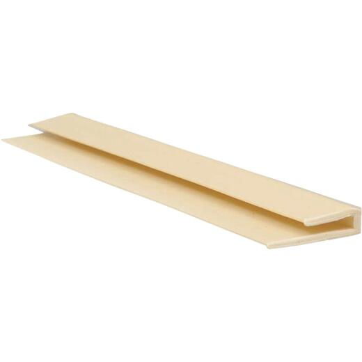 Crane Sequentia 8 Ft. Almond FRP End Cap Corner Molding