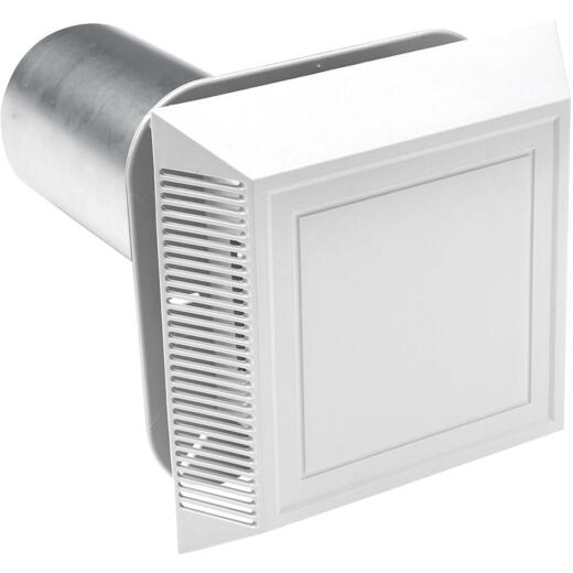 "Ply Gem 8"" x 8"" White Vinyl Utility Vents"