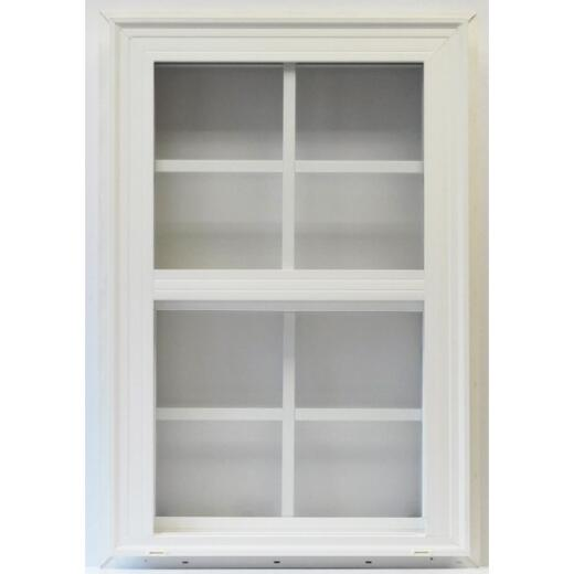 Croft Savannah Series 20 35.5 In. W.x 47.5 In. H. White Vinyl Single Hung Window