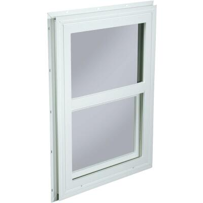 Northview 17-1/2 In. W. x 23-1/2 In. H. White PVC Traditional Single Glazed Single Hung Window