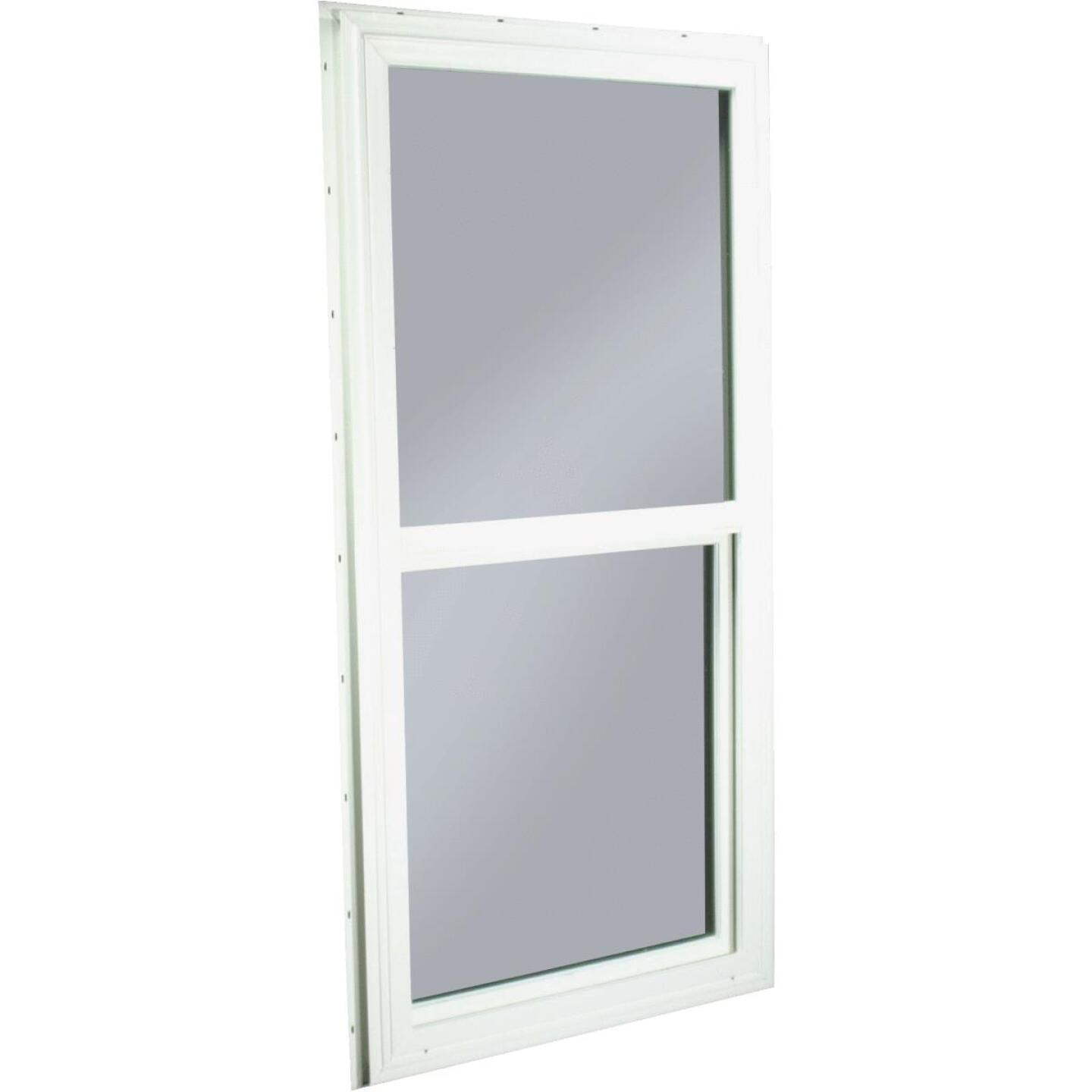 Northview 23-1/2 In. W. x 47-1/2 In. H. White PVC Traditional Single Glazed Single Hung Window Image 1
