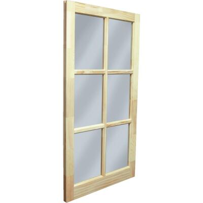 Northview Window 22 In. x 41-5/16 In. Wood 6-Lite Barn Sash