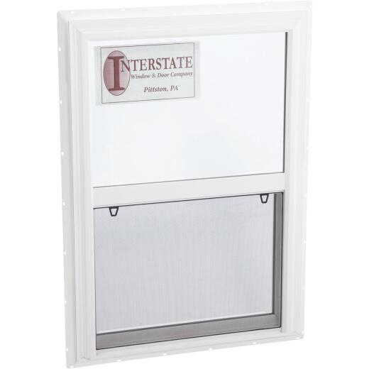 Interstate Model 5100 24 In. W. x 36 In. H. White Single Hung Window