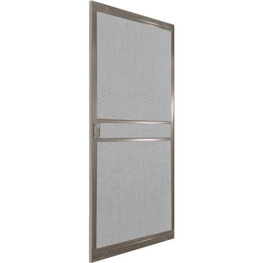 Precision Branson 36 In. Bronze Steel Replacement Patio Door Screen