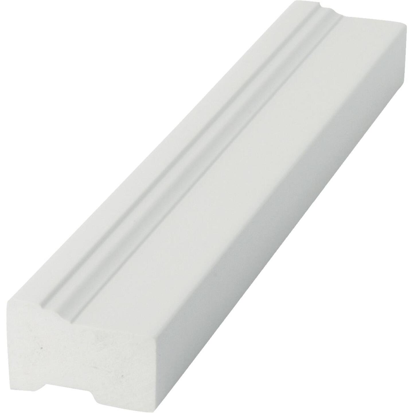 Royal 2 In. x 8 Ft. PVC Brick Molding Image 2