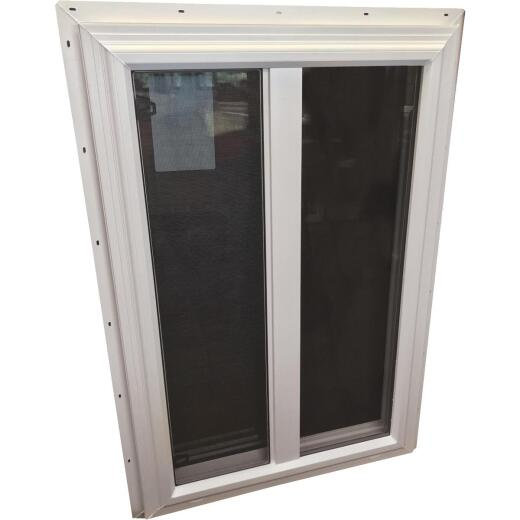 Interstate Model 5100 48 In. W. x 48 In. H. White Vinyl Single Slider Window