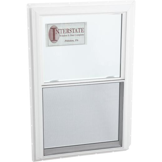 Interstate Model 5100 36 In. W. x 36 In. H. White Vinyl Double Hung Window