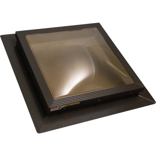 Kennedy Skylights 24 In. x 24 In. Bronze Dome Insulated Skylight