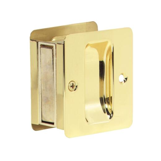 Schlage Passage Polished Brass Pocket Door Pull