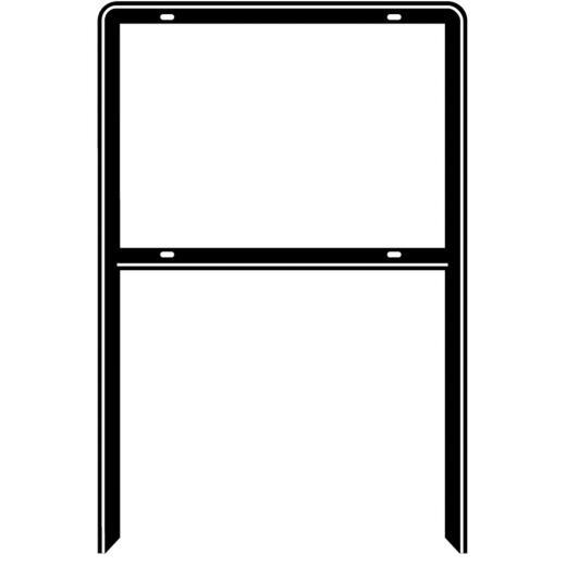 Hy-Ko  Steel Heavy Duty Open Sign Frame