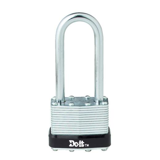 "Do it Laminated Steel 1-1/2"" Pin Tumbler Padlock"