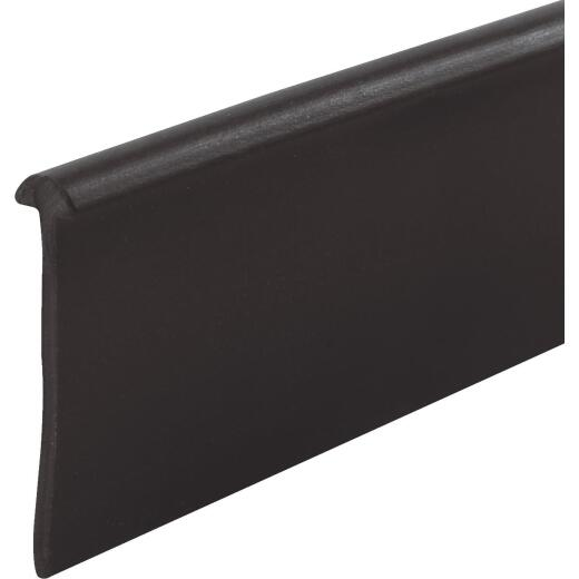 Prime-Line 1-7/16 In. x 36 In. Black Flat Bottom Shower Door Seal