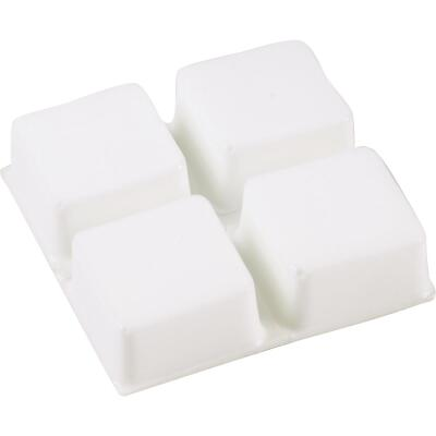 Do it 1/2 In. Square White Furniture Bumpers,(9-Count)
