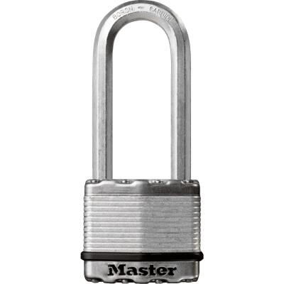 Master Lock Magnum 2 In. W. Dual-Armor Keyed Alike Padlock with 2-1/2 In. L. Shackle