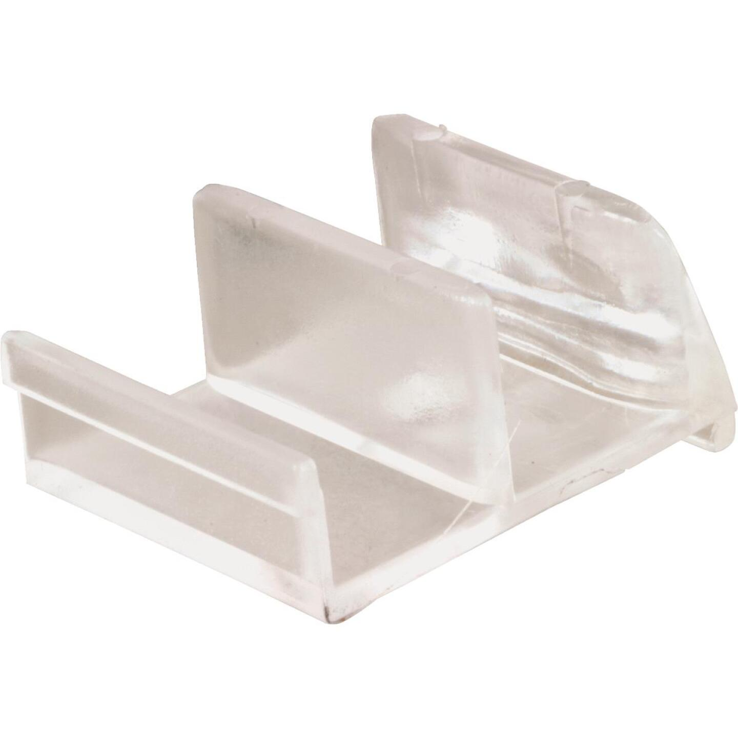 Prime-Line Clear Tub & Shower Enclosure Bottom Guide (2 Count) Image 1