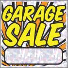Hy-Ko Plastic Sign, Garage Sale Image 1