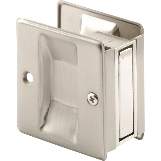 Prime-Line 2-3/4 Satin Nickel Pocket Door Pull