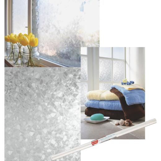 D-C-Fix 26 In. x 59 In. Splinter Static Window Film
