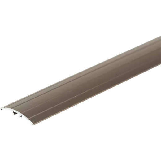M-D Pewter 1-9/16 In. W x 36 In. L Aluminum T Mold Floor Transition