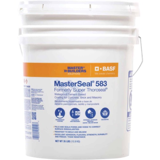 MasterSeal 583 35 Lb. White Masonry Waterproofer