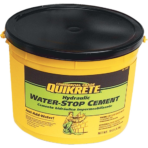 Quikrete 10 Lb Pail Hydraulic Water Stop Cement