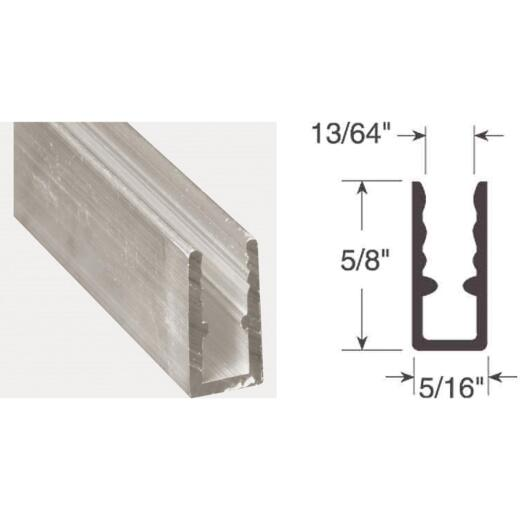 Prime-Line 5/16 In. x 5/8 In. x 94 In. Mill Extruded Window Frame