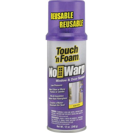 Touch 'N Foam Window & Door 12 Oz. No Warp Insulating Foam Sealant