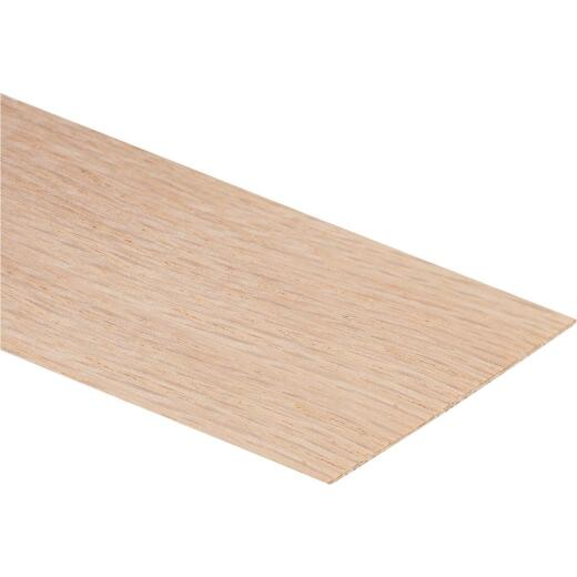 Cloverdale Band-It 2 In. x 8 Ft. Red Oak Wood Veneer Edging