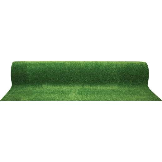 Multy Home 6 Ft. W x 100 Ft. Green Indoor/Outdoor Grass Carpet Roll