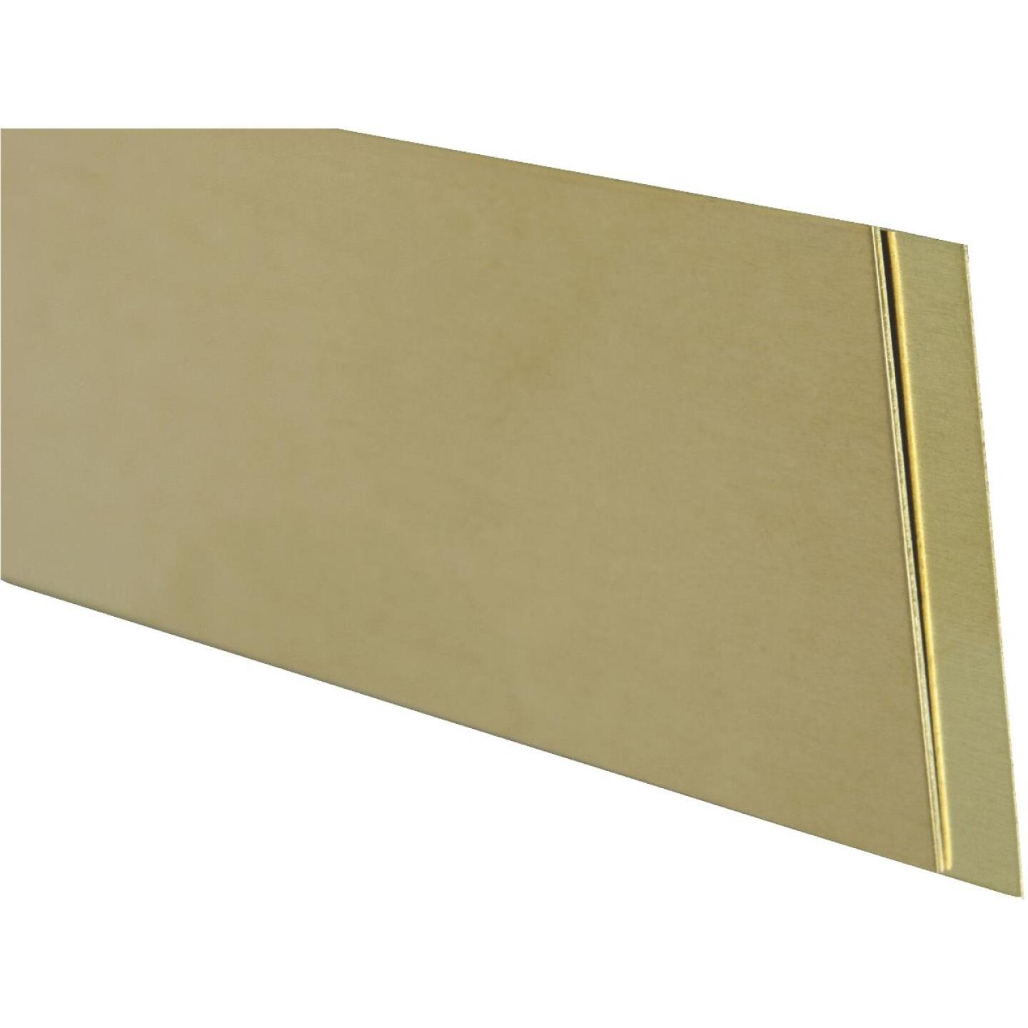 K&S Brass 1 In. x 12 In. Strip Stock Image 1