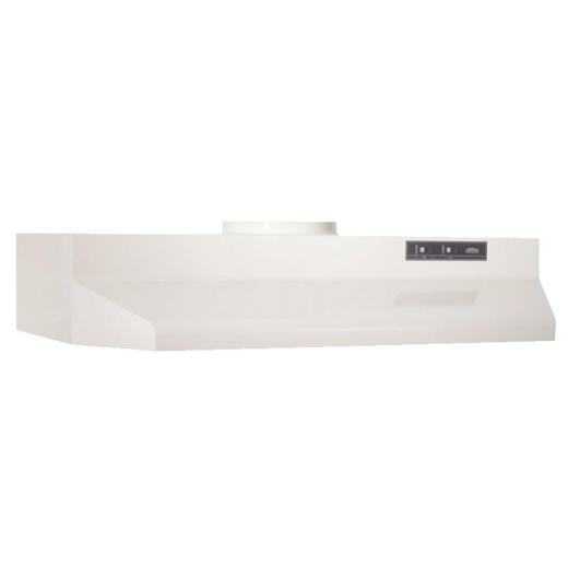 Broan-Nutone F Series 30 In. Convertible Almond Range Hood