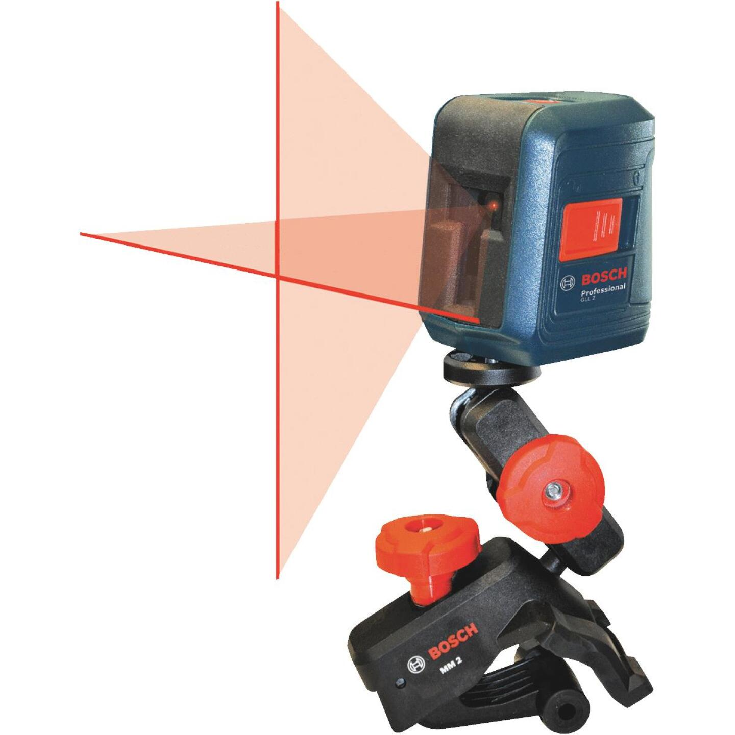 Bosch 30 Ft. Self-Leveling Cross-Line Laser Level Image 1