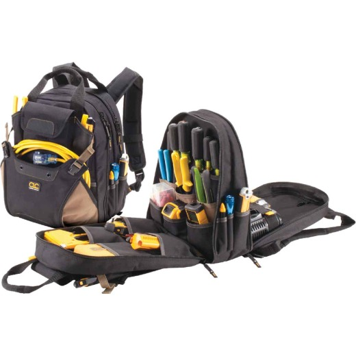 CLC 44-Pocket 16 In. Deluxe Backpack Tool Bag