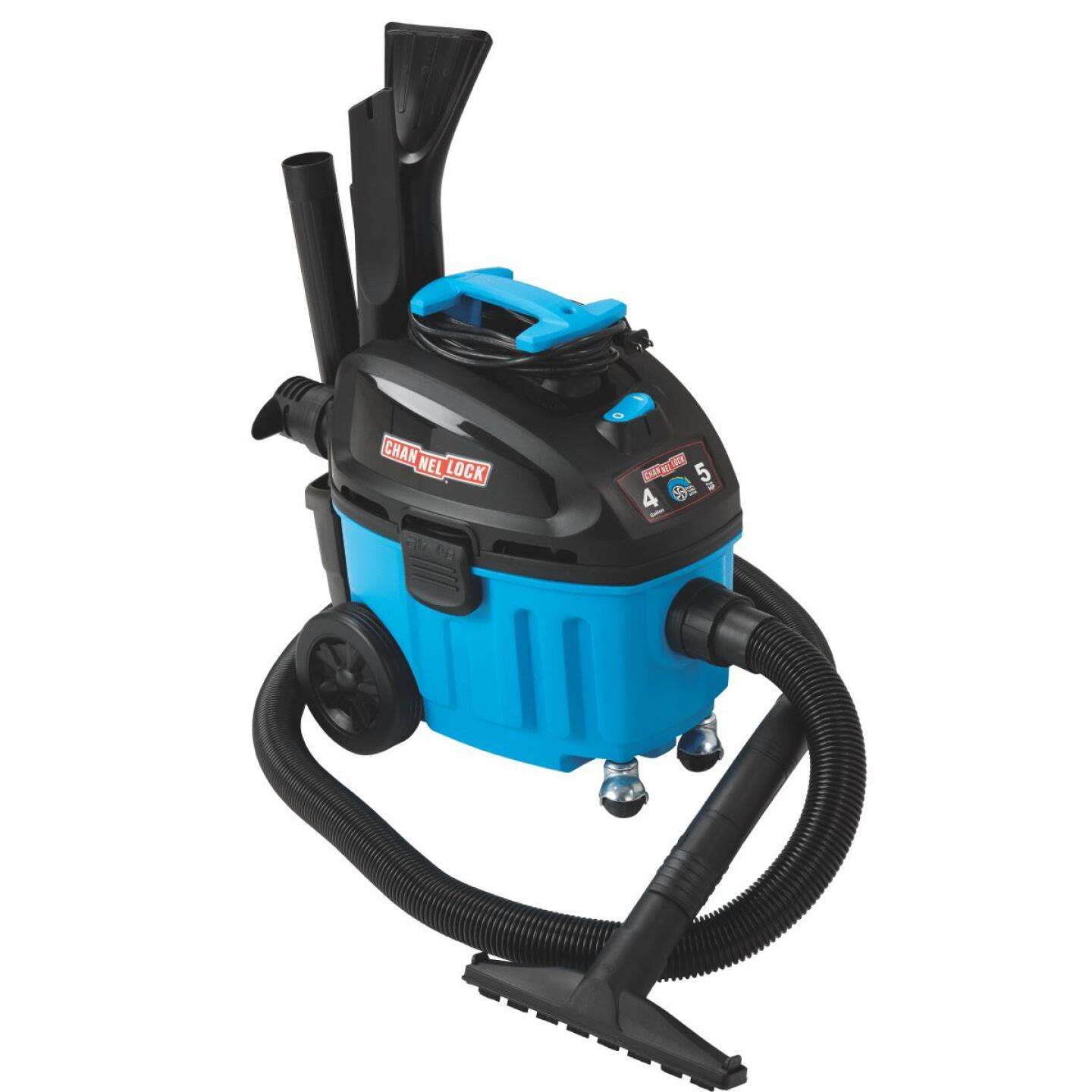 Channellock 4 Gal. 5.0-Peak HP Contractor Wet/Dry Vacuum Image 14