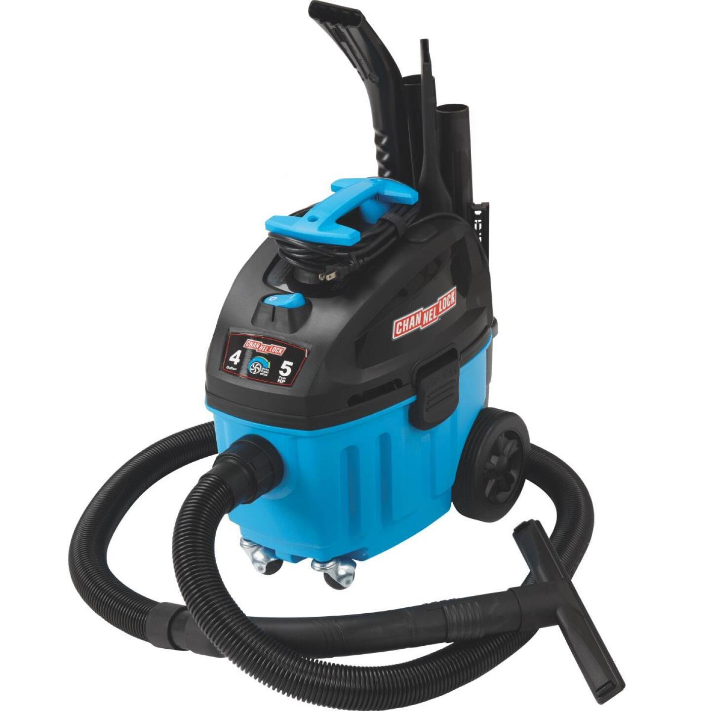 Channellock 4 Gal. 5.0-Peak HP Contractor Wet/Dry Vacuum Image 15