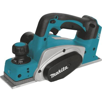 Makita 18V LXT 18 Volt Lithium-Ion 3-1/4 In. Cordless Planer (Bare Tool)
