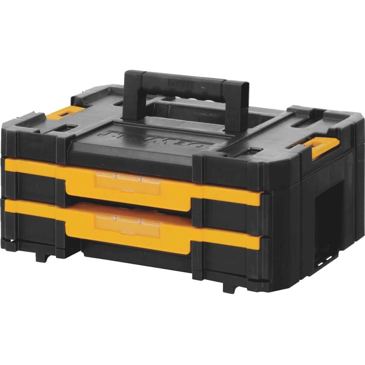 Dewalt TSTAK Case Toolbox with Drawers Image 1