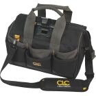 CLC Tech Gear 29-Pocket 14 In. Lighted Bigmouth Tool Bag Image 1