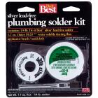 Do it Best Silver bearing lead-free 1/4 lb H-2095 water soluble tinning flux Solder Kit Image 1