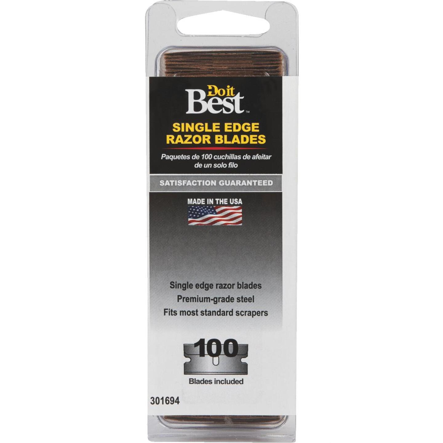 Do it Best Single Edge Razor Blades (100-Pack) Image 2