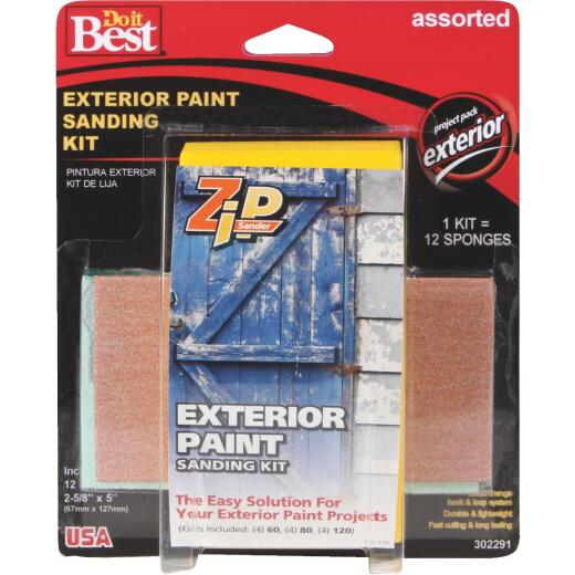 Do it Best Zip Sander Paint Hand Exterior Sanding Kit