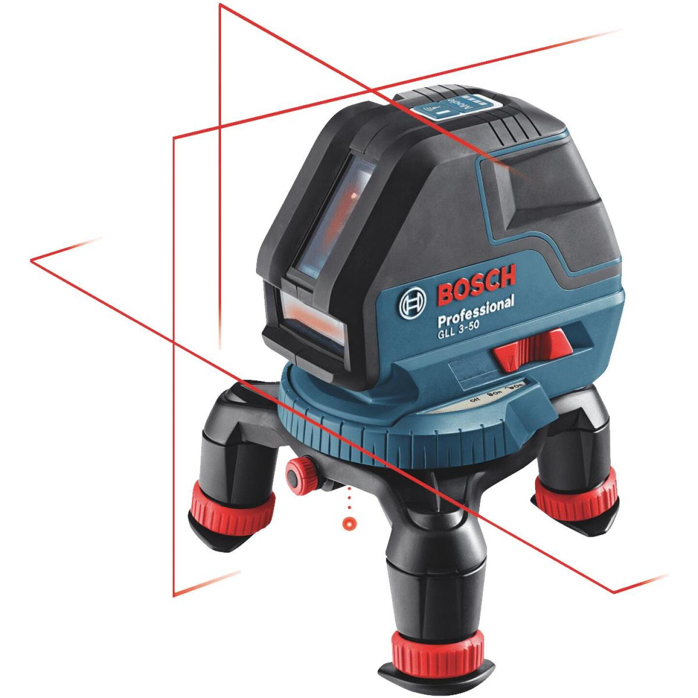 Bosch 165 Ft. Self-Leveling 360 Degree 3-Plane and Alignment Line Laser Level with Layout Beam Image 1