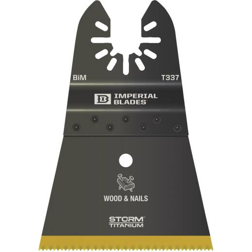 Imperial Blades One Fit 2-1/2 In. Titanium Coated Bi-Metal Storm Oscillating Blade