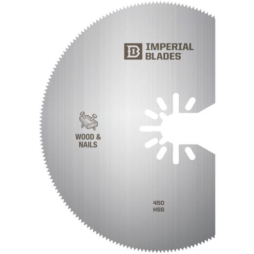 Imperial Blades One Fit 4 In. High-Speed Steel Oscillating Blade